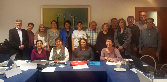EDSA Board members at the Annual General Assembly 2016 in Zagreb