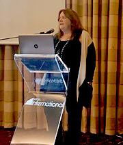 Anna Contardi speaking