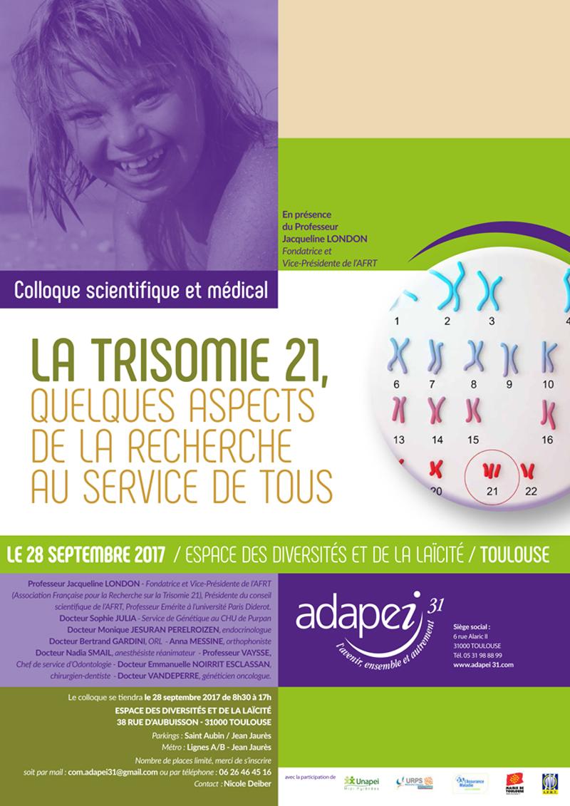 Poster Colloque Trisomie 2017
