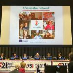 Paola Vulterini presenting the Valuable project during the World Down Syndrome Day Conference in New York at the United Nations Headquarters on the 21st of March.