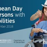 Motto and visual for the European Day of Persons with Disabilities 2018