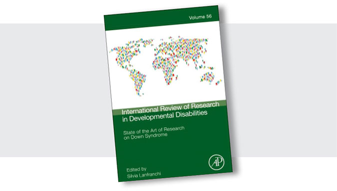 Cover of new book: State of the art of Down syndrome, Volume 56