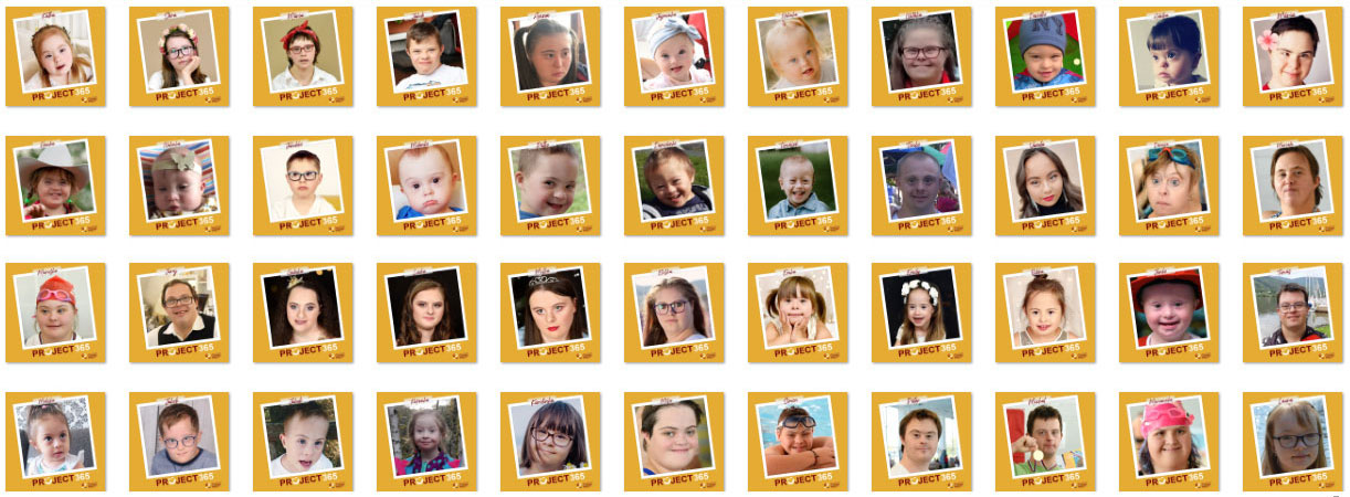 44 photos/faces of people with DS - from toddlers to adults (2)