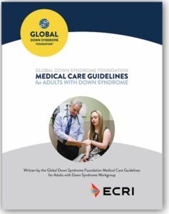 """Brochure """"Medical Care Guidelines for Adults with DS"""""""