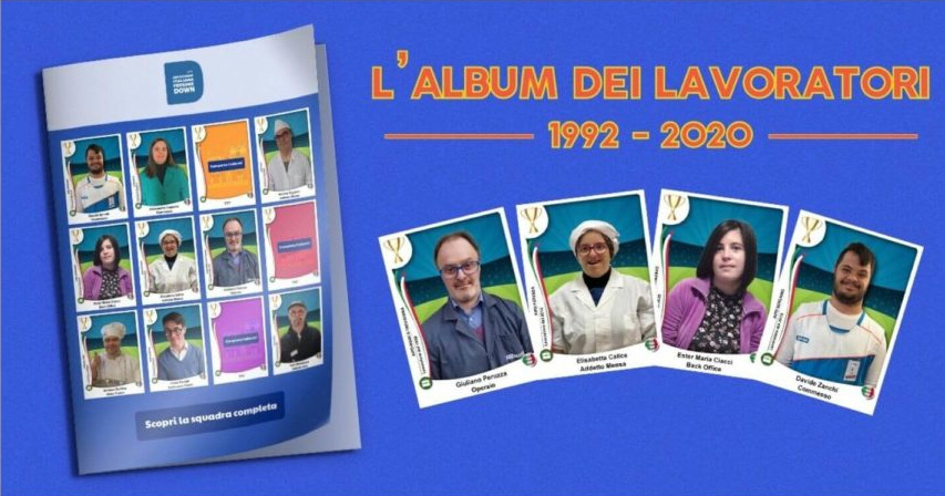 """Image """"The album for workers with Down syndrome 1992–2020"""""""